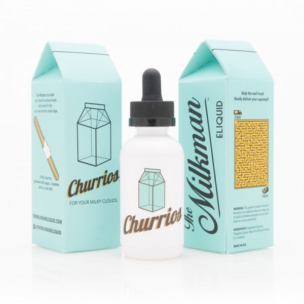 The Milkman - Currios - Shortfill Liquid 50ml