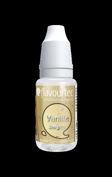 Vanille e-Liquid - 10ml - Flavourtec