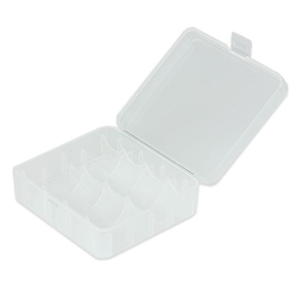 Akkubox für Aufbewahrung 2x26650 oder 4x18650