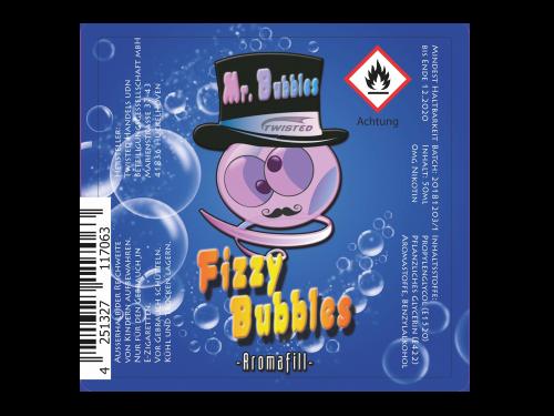 Fizzy Bubbles - Mr. Bubbles - Twisted - Liquid 50ml