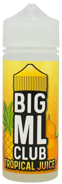 Tropical Juice - Liquid - 100ml - Big ML Club by Dinner Lady