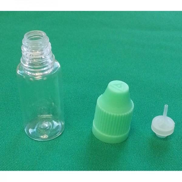 PET Flasche mit dünnem Tropfer 10/20/50ml