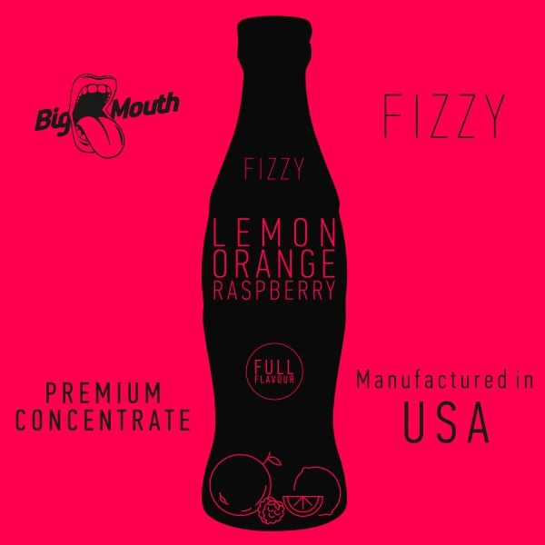 Fizzy Lemon | Orange | Raspberry Aroma by Big Mouth