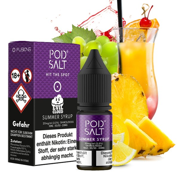 Pod Salt Liquid Summer Syrup Nikotinsalz 20mg/ml