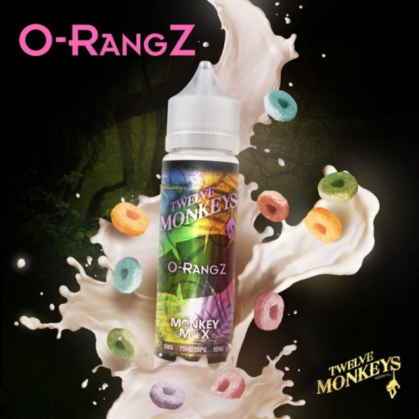 Twelve Monkeys - O-Rangz - Liquid 50ml