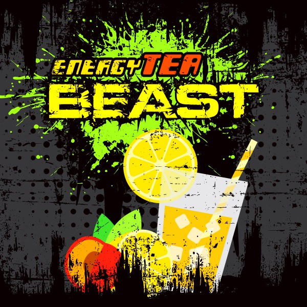 Beast Energy Tea - Shake'n'Vape - Liquid 50ml by Big Mouth
