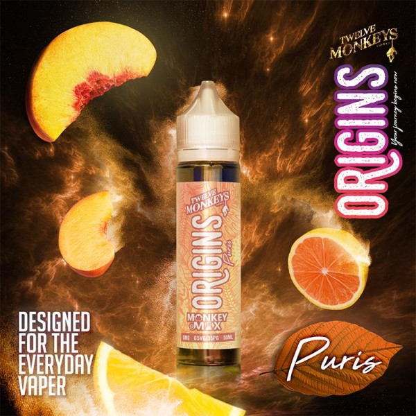 Twelve Monkeys Origins - Puris - Liquid 50ml
