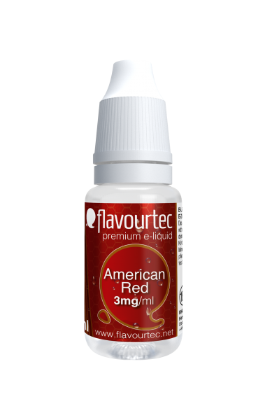 American Red - e-Liquid - 10ml - Flavourtec