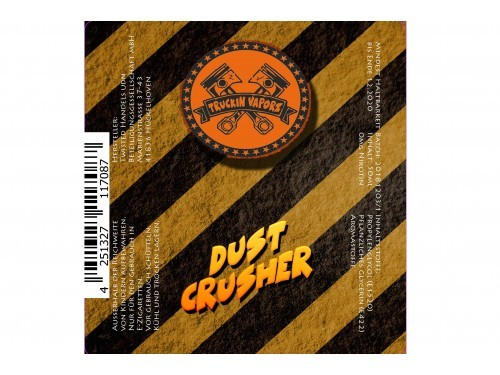 Dust Crusher - Truckin Vaporz - Twisted - Liquid 40ml