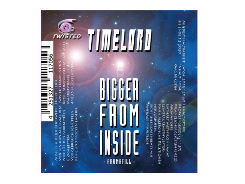 Bigger From Inside - Timelord - Twisted - Liquid 50ml