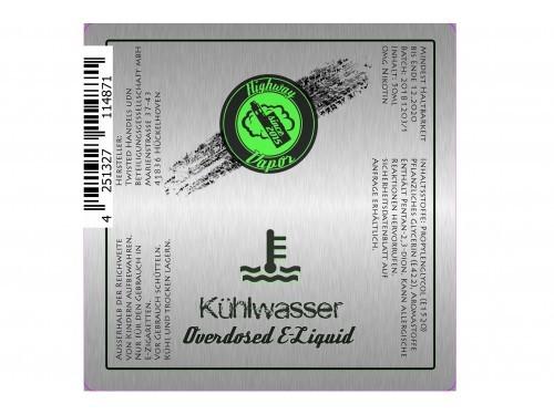 Kühlwasser - Highway Vapor - Twisted - Liquid 50ml