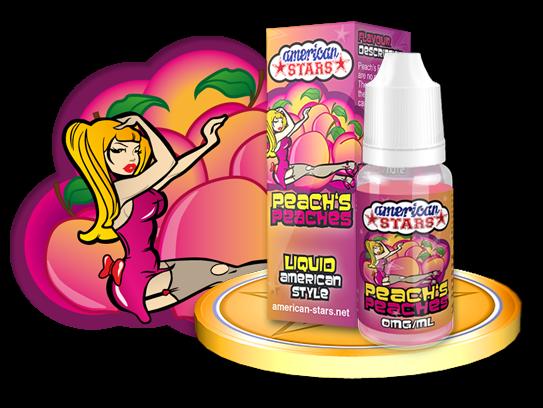 American Stars Liquid Peachs Peaches