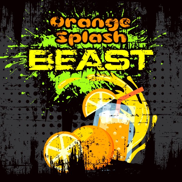 Beast Orange Splash - Shake'n'Vape - Liquid 50ml by Big Mouth