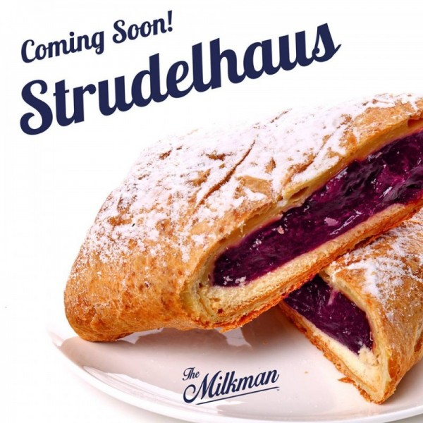 The Milkman - Strudelhaus - Shortfill Liquid 50ml