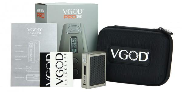 VGOD PRO150 BOX TC MOD schwarz