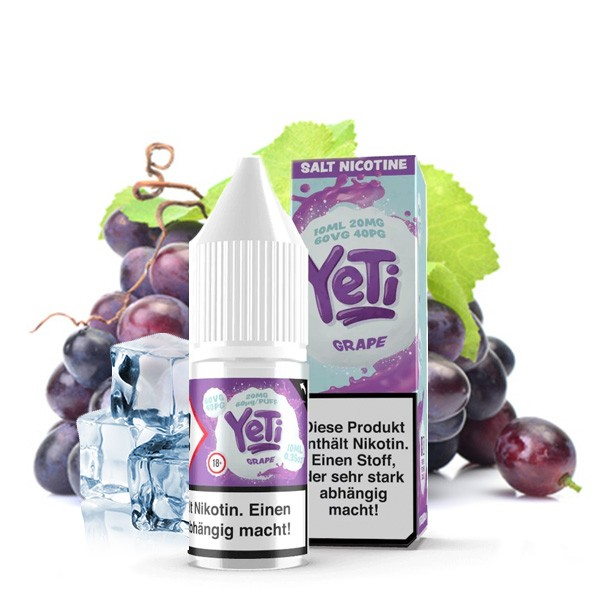 Yeti Liquid Grape Nikotinsalz
