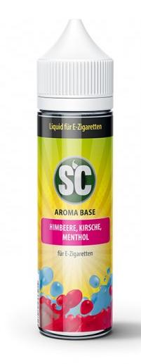 SC Liquid Himbeere, Kirsche, Menthol