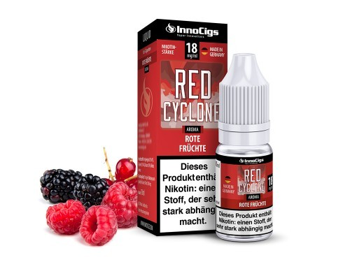 Red Cyclone - e-Liquid - 10ml - Innocigs
