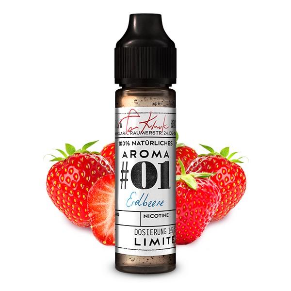 Erdbeere No.01 natürliches Aroma Tom Klarks