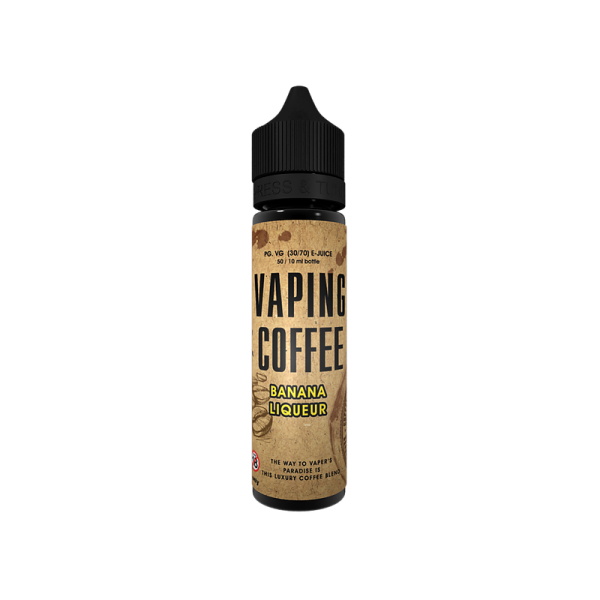 Vaping Coffee - Banana Liqueur - e-Liquid - 50ml