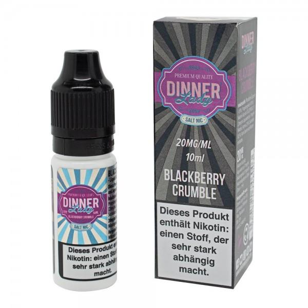 Blackberry Crumble - 20mg Nikotinsalz - e-Liquid - 10ml - Dinner Lady
