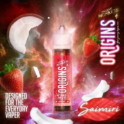 Twelve Monkeys Origins - Saimiri - Liquid 50ml