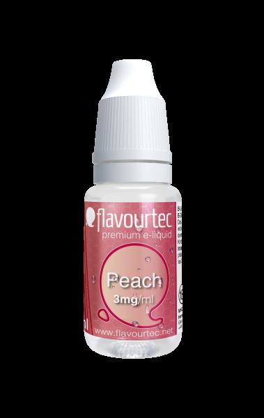 Pfirsich e-Liquid - 10ml - Flavourtec