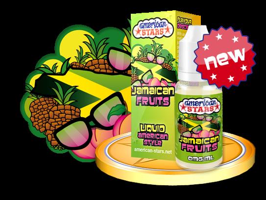 American Stars Liquid Jamaican Fruits