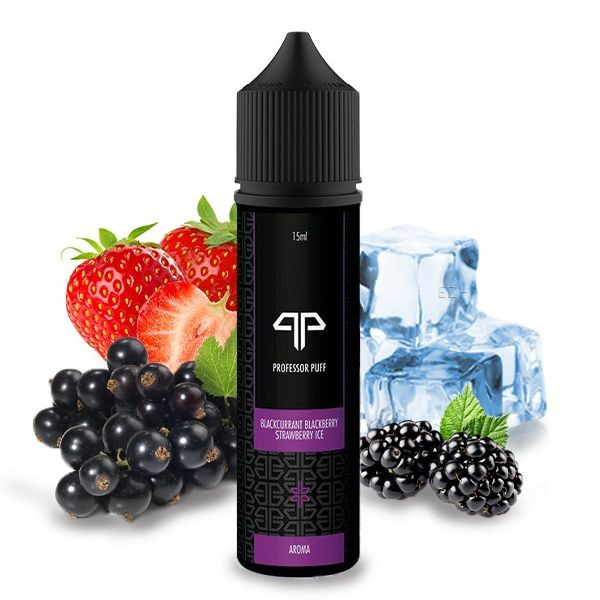 Blackcurrant Blackberry Strawberry Ice Aroma Professor Puff
