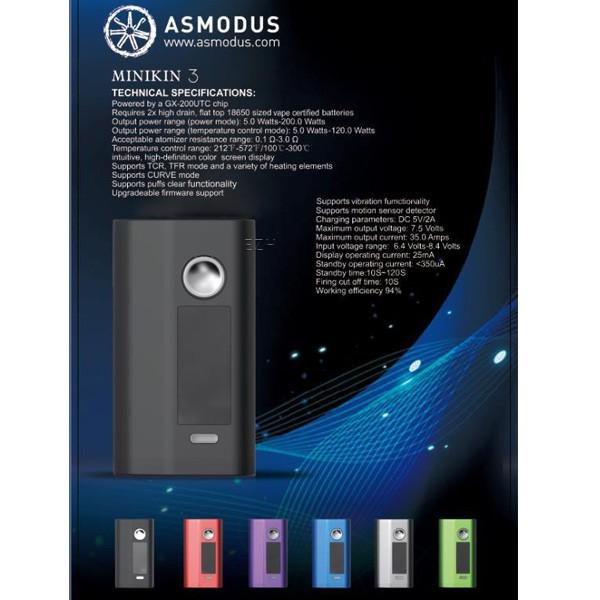 Asmodus - Minikin V3 - 200W - Akkuträger