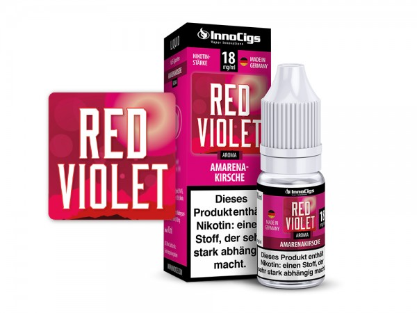 Red Violet - e-Liquid - 10ml - Innocigs