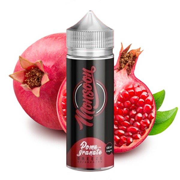 Monsoon Liquid Pomegranate Breeze Shortfill