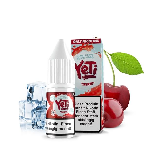 Yeti Liquid Cherry Nikotinsalz