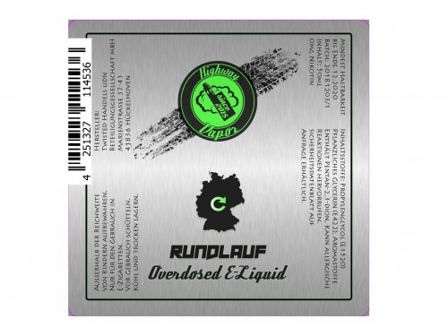 Rundlauf - Highway Vapor - Twisted - Liquid 50ml