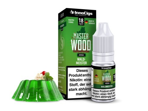 Master Wood - e-Liquid - 10ml - Innocigs