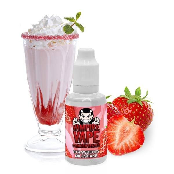 Strawberry Milkshake - Aroma 30 ml by Vampire Vape