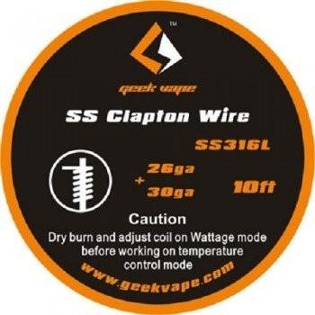 GeekVape - SS316L Clapton - Wickeldraht