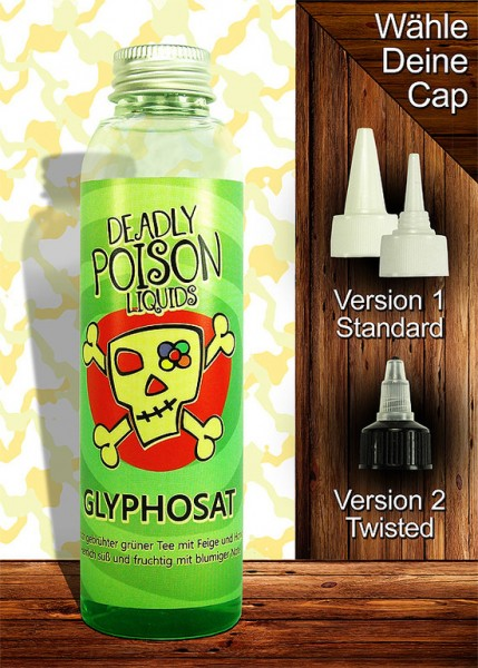 Glyphosat - Liquid - 100ml - Deadly Poison Liquids