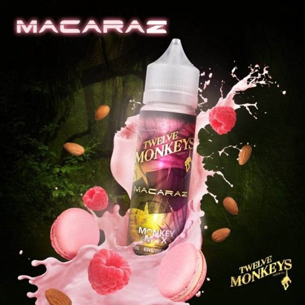 Twelve Monkeys - MacaRaz - Liquid 50ml