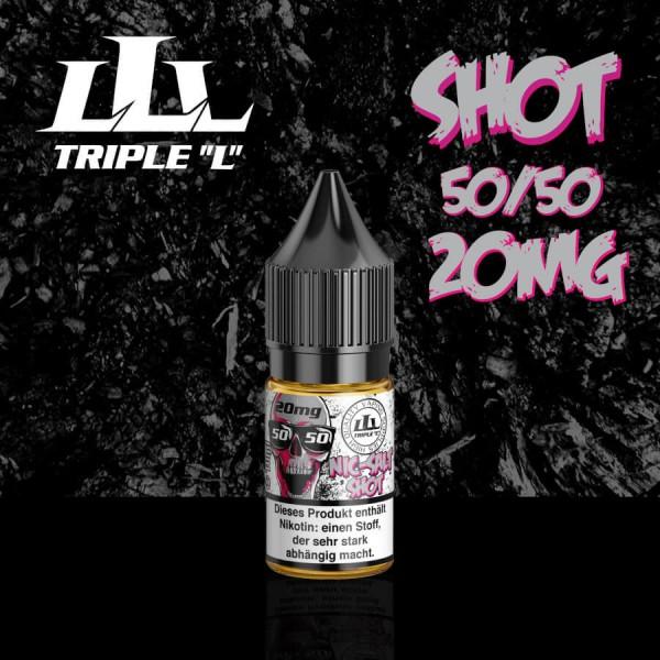 Nikotinsalz 20mg/ml - 10ml - Triple L Nic-Salt Shot