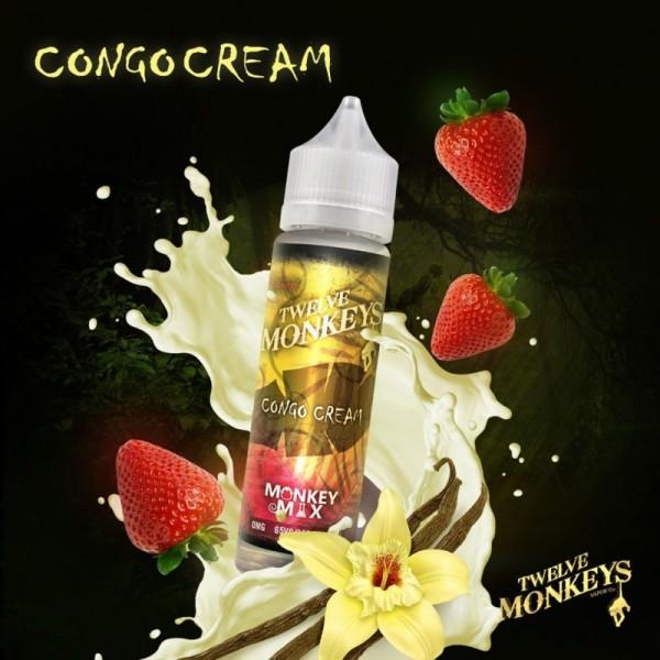 Twelve Monkeys - Congo Cream - Liquid 50ml