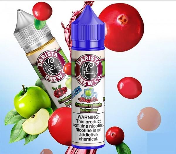 Barista Bew - Frozen Cranberry Apple Refresher - e-Liquid - 50ml