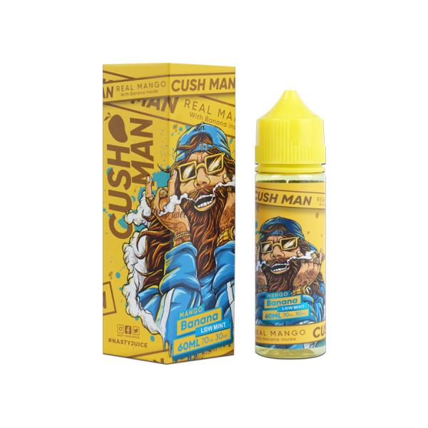 Nasty Juice - Cush Man - Real Man with Banana - Liquid 50ml