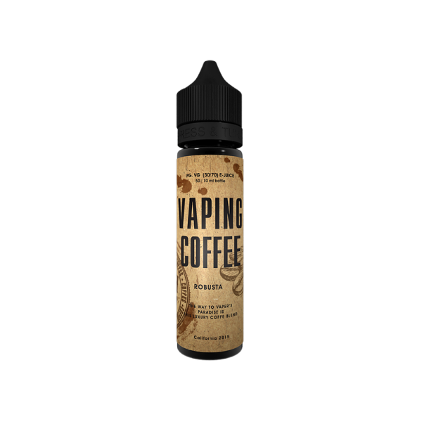 Vaping Coffee - Robusta - e-Liquid - 50ml