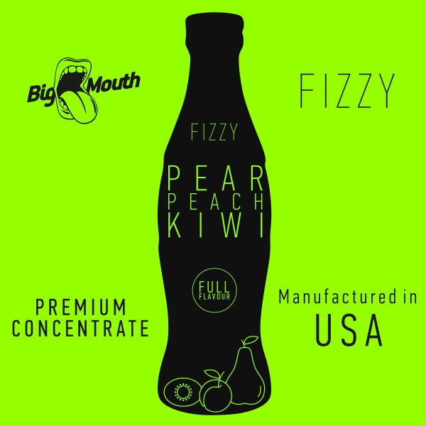 Fizzy Pear | Peach | Kiwi Aroma by Big Mouth